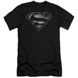 Superman - Barbed Wire (slim fit) Shirts