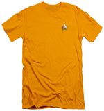 Star Trek - TNG Engineering Emblem (slim fit) Shirt