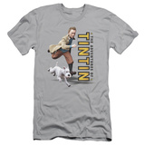 The Adventures of Tintin - Come On Snowy (slim fit) T-Shirt