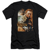 The Adventures of Tintin - Adventure Poster (slim fit) Shirts