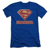Superman - Super Grandpa (slim fit) T-Shirt