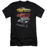 The Fast And The Furious - Muscle Car Splatter (slim fit) T-shirts