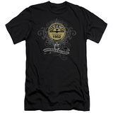 Sun Records - Rockin Scrolls (slim fit) T-Shirt