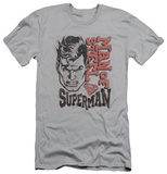 Superman - Retro Lines (slim fit) T-Shirts