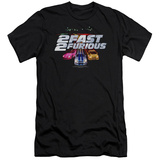 2 Fast 2 Furious - Logo (slim fit) T-shirts