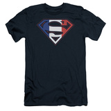 Superman - French Shield (slim fit) T-shirts