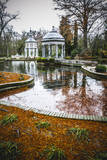 Chinoiserie.Ornamental Fountains of the Palace of Aranjuez, Madrid, Spain.World Heritage Site by UN Print by  outsiderzone