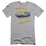 Back To The Future - 88 Mph (slim fit) Shirt