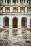 Main Facade.Palace of Aranjuez, Madrid, Spain.World Heritage Site by UNESCO in 2001 Prints by  outsiderzone
