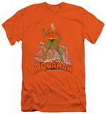 Aquaman - Aquaman Distressed (slim fit) T-Shirt