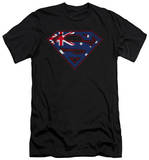 Superman - Australian Shield (slim fit) T-shirts