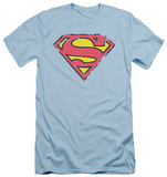 Superman - Distressed Shield (slim fit) T-Shirt