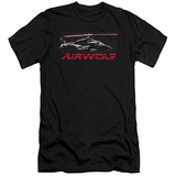 Airwolf - Grid (slim fit) T-Shirt