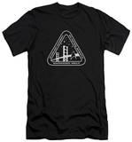 Star Trek - White Academy Logo (slim fit) T-shirts