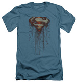 Superman - Shield Drip (slim fit) T-shirts