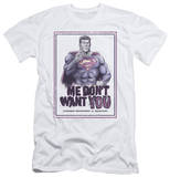 Superman - Don't Want You (slim fit) Shirts