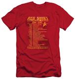 Star Trek - Red Shirt Tour (slim fit) Shirts