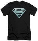 Superman - Chrome Shield (slim fit) Shirts