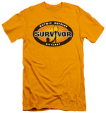 Survivor - Gold Burst (slim fit) T-Shirt