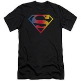 Superman - Gradient Superman Logo (slim fit) T-shirts