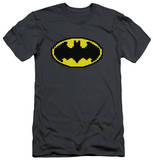 Batman - Pixel Symbol (slim fit) Shirts