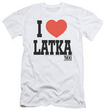 Taxi - I Heart Latka (slim fit) T-shirts