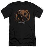 Bruce Lee - Jeet Kun Do Pose (slim fit) T-shirts