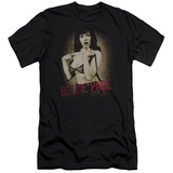 Bettie Page - Distressed Tease (slim fit) T-shirts