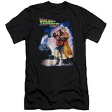 Back To The Future II - Poster (slim fit) T-shirts