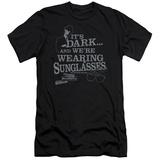 Blues Brothers - Its Dark (slim fit) Shirts