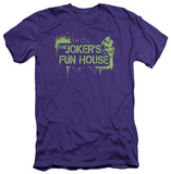 Batman Arkham City - Joker's Fun House (slim fit) Shirt