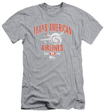Airplane - Trans American (slim fit) T-Shirt