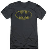Batman - Tattered Logo (slim fit) T-shirts