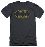 Batman - Tattered Logo (slim fit) T-shirts