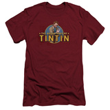 The Adventures of Tintin - Looking For Clues (slim fit) T-shirts