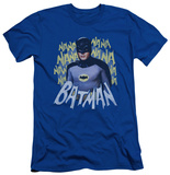 Batman Classic TV - Theme Song (slim fit) Shirt