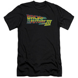 Back To The Future III - Logo (slim fit) T-Shirt
