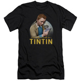 The Adventures of Tintin - Looking For Answers (slim fit) Shirts