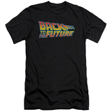 Back To The Future - Logo (slim fit) Shirts