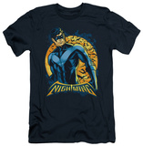 Batman - Nightwing Moon (slim fit) T-Shirt