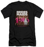 Bridesmaids - Poster (slim fit) T-Shirt