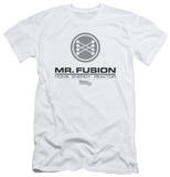 Back To The Future II - Mr. Fusion Logo (slim fit) T-Shirt