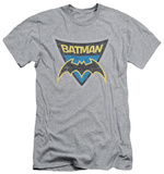 Batman The Brave and the Bold - Batman Shield (slim fit) T-shirts