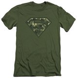Superman - Super Camo (slim fit) T-shirts