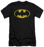 Batman - Classic Logo Distressed (slim fit) T-Shirt