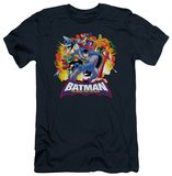 Batman The Brave and the Bold - Explosive Heroes (slim fit) T-Shirt