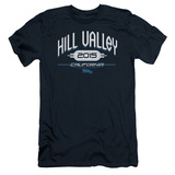 Back To The Future II - Hill Valley 2015 (slim fit) Shirts