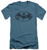Batman - Navy Camo Shield (slim fit) T-shirts