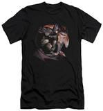 Batman Arkham City - Blood Moon (slim fit) T-shirts