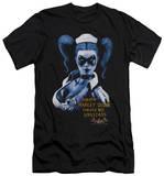 Batman Arkham Asylum - Arkham Harley Quinn (slim fit) Shirt